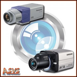 Cameras Box Objectif asservi