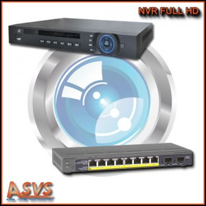 Enregistreur NVR FULL HD 1080P